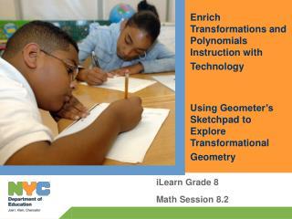 iLearn Grade 8 Math Session 8.2