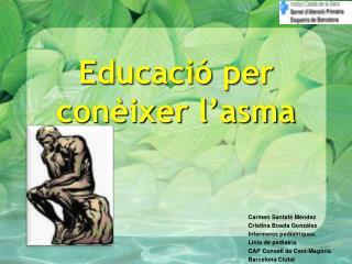 Educació per conèixer l'asma