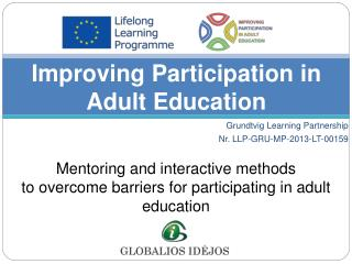 Improving Participation in Adult Education