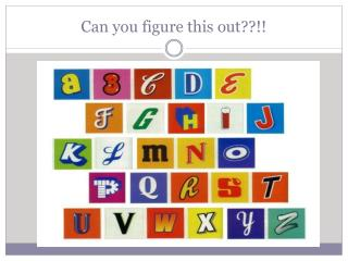 Can you figure this out??!!