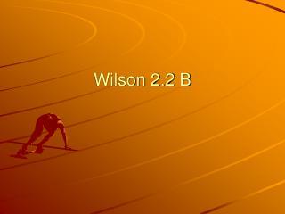 Wilson 2.2 B