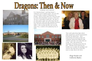 Dragons: Then & Now