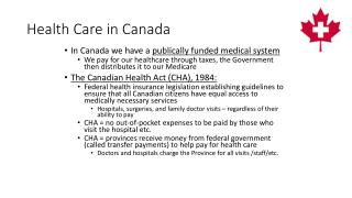 Health Care in Canada
