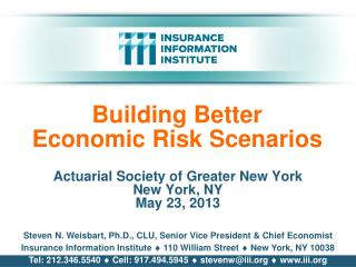 Building Better Economic Risk Scenarios