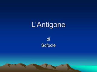 L'Antigone