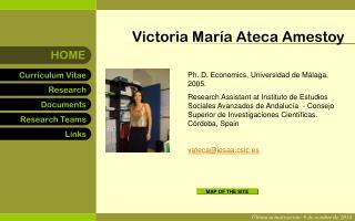 Victoria María Ateca Amestoy