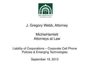 MichieHamlett  Attorneys at Law