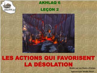 AKHLAQ 6 LE ÇON 2