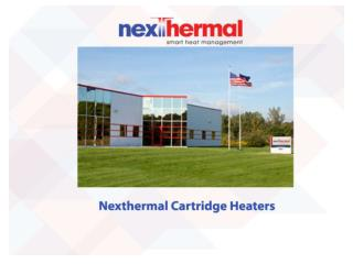 Nexthermal cartridge heaters
