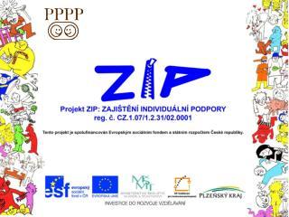 Název projektu :  Zajištění individuální podpory  Reg. číslo :  CZ.1.07/1.2.31/02.0001