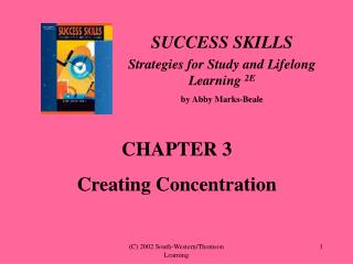 SUCCESS SKILLS Strategies for Study and Lifelong Learning  2E by Abby Marks-Beale
