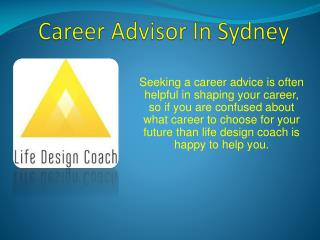 Career Advisor In Sydney