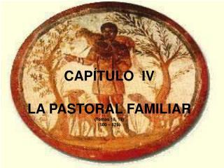 CAPÍTULO  IV LA PASTORAL FAMILIAR (Temas 18, 19)         (500 – 576)