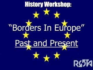 History Workshop:
