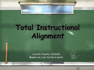 Total Instructional Alignment
