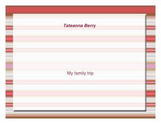 Tateanna Berry