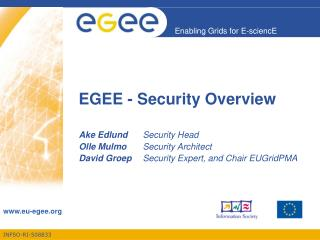 EGEE - Security Overview