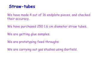 Straw-tubes