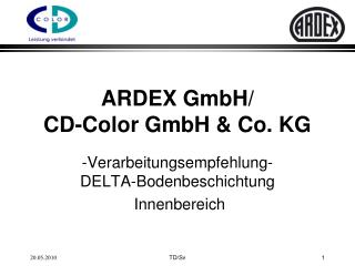 ARDEX GmbH/                CD-Color GmbH & Co. KG