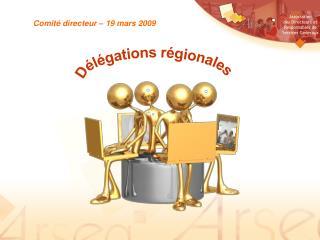 Comité directeur – 19 mars 2009