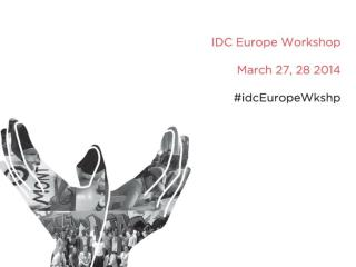 2014 Europe Regional workshop
