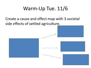 Warm-Up Tue. 11/6