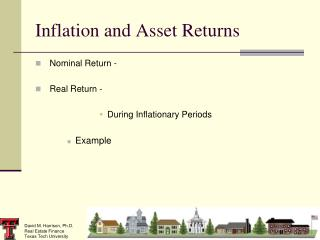 Inflation and Asset Returns