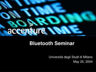 Bluetooth Seminar