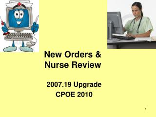 New Orders   Nurse Review