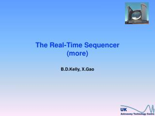 The Real-Time Sequencer (more)