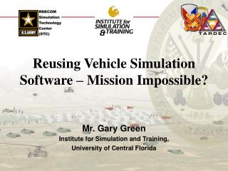 Reusing Vehicle Simulation Software – Mission Impossible?