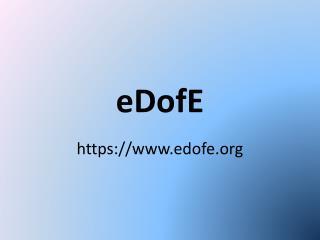 eDofE