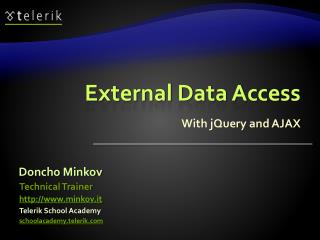 External Data Access