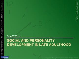 SOCIAL AND PERSONALITY DEVELOPMENT IN LATE ADULTHOOD