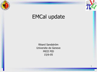 EMCal update