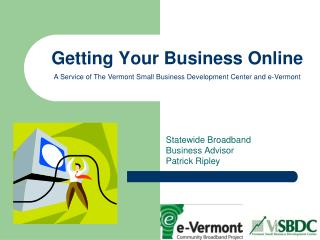 Getting Your Business Online