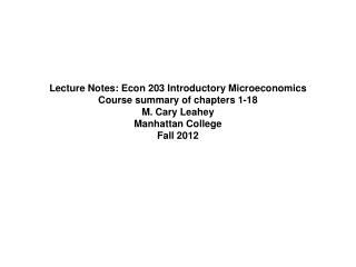 Chapter 1: The nature of economics; what is economics all about