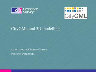 CityGML and 3D modelling