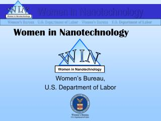Women in Nanotechnology