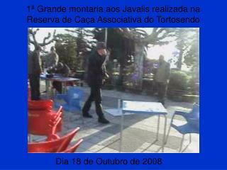 1ª Grande montaria aos Javalis realizada na Reserva de Caça Associativa do Tortosendo