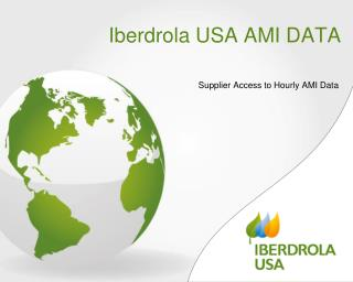 Iberdrola USA AMI DATA