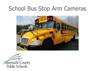 School Bus Stop Arm Cameras