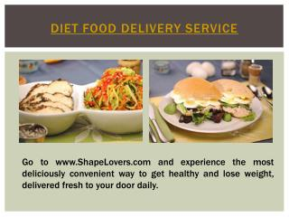 Diet Food Delivery Miami