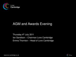 AGM and Awards Evening