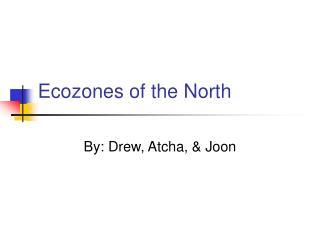 Ecozones of the North