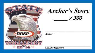 ______________________________________ Coach's Signature