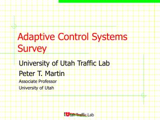 Adaptive Control Systems Survey