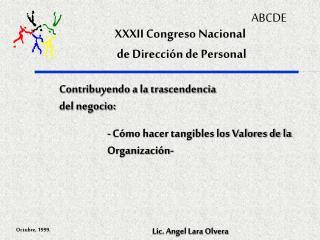 XXXII Congreso Nacional  de Dirección de Personal