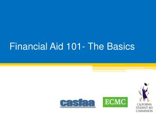 Financial Aid 101- The Basics
