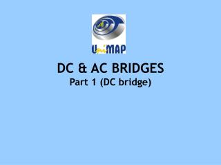 DC & AC BRIDGES Part 1 (DC bridge)